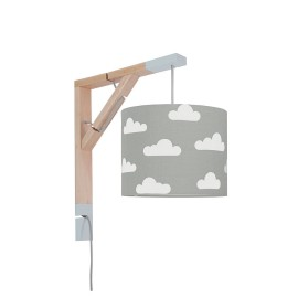 Sconce wall lamp Simple clouds on gray Collection Scandinavian youngDECO