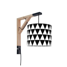Sconce wall lamp Simple triangles black Collection Scandinavian youngDECO
