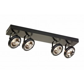 Visio 4 As Spotlights Rail Brown