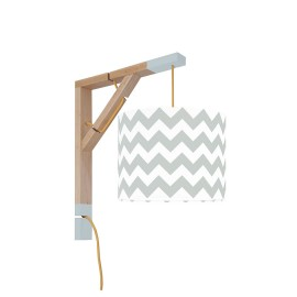 Sconce wall lamp Simple chevron gray Collection New York youngDECO