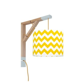 Sconce wall lamp Simple chevron yellow Collection New York youngDECO