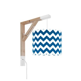 Sconce wall lamp Simple chevron navy blue Collection New York youngDECO