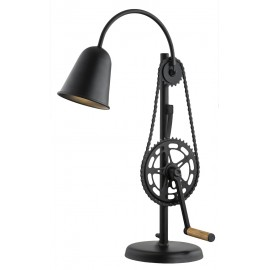 Bike Standing Lamp Black