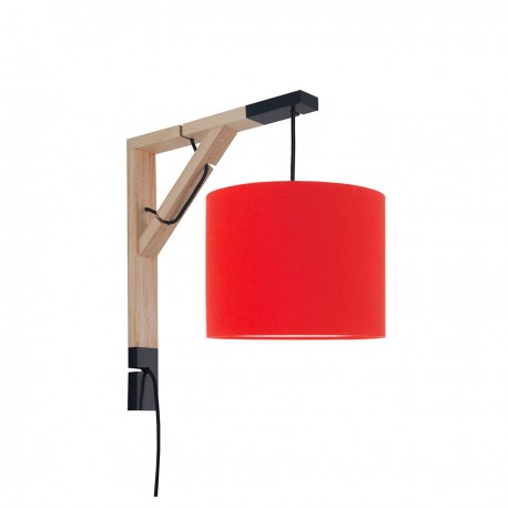 Sconce wall lamp Simple juicy orange Collection Made by Colors youngDECO