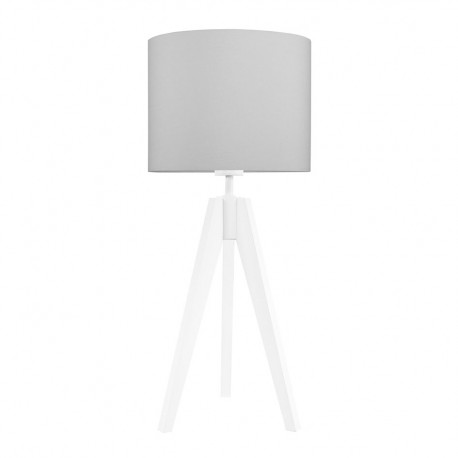 Pure grey table lamp