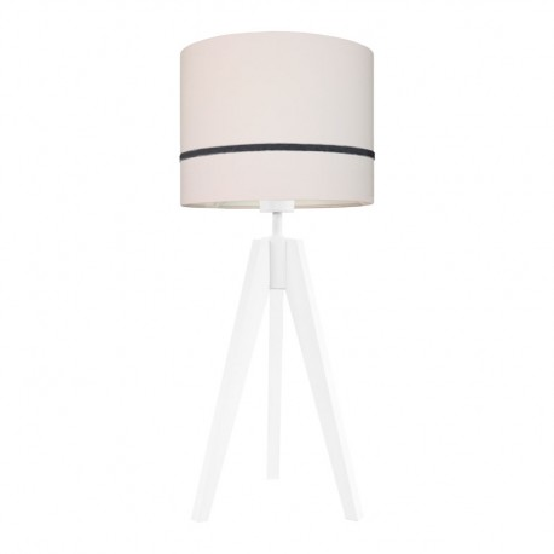 Porcelain pink table lamp