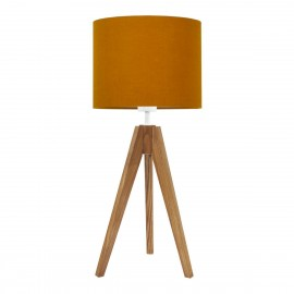 Lamp on a table lamp shade autumn collection Linen youngDECO