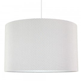 Dot on gray lampshade diameter 40cm collection Elegance youngDECO