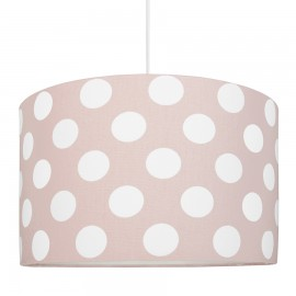Lampshade peas on a dirty pink, the diameter of 40cm, the collection of Scandinavian youngDECO