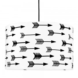Black arrow lampshade diameter 40cm collection Scandinavian youngDECO
