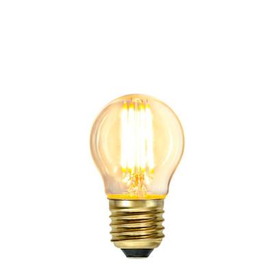 SOFT GLOW FILAMENT żarówka dekoracyjna LED ściemnialna G45 4W 2100K 350lm 45mm Star Trading