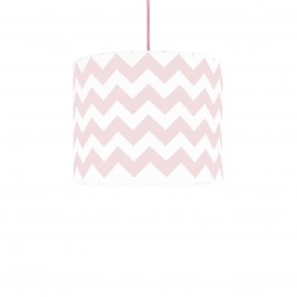 Pink Chevron MINI Lampshade Ø25cm