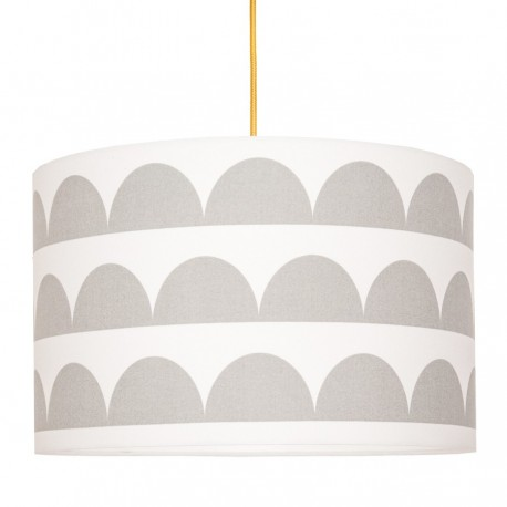 Grey half-moons Lampshade Ø40cm