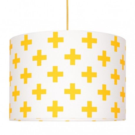 Yellow sharps Lampshade Ø40cm