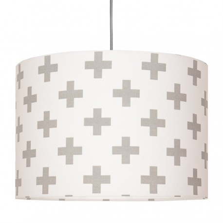 Grey sharps Lampshade Ø40cm