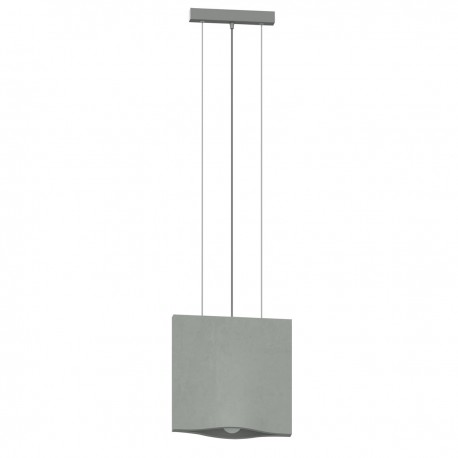 Concrete hanging lamp in gray TUNG THORO
