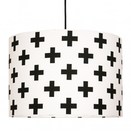 Black sharps Lampshade Ø40cm
