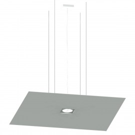 Hanging lamp with adjustable up and down lighting direction NELIOT square THORO