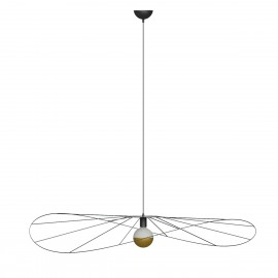 Asymmetric hanging lamp ESKOLA L hat diameter 110cm THORO