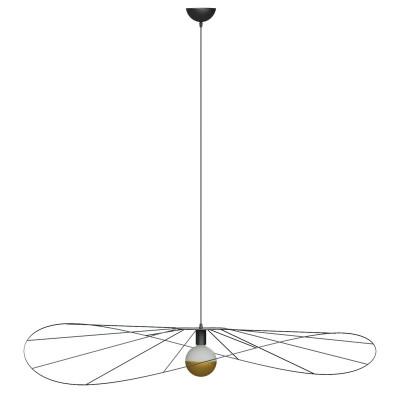 Asymmetric hanging lamp ESKOLA L hat diameter 140cm THORO