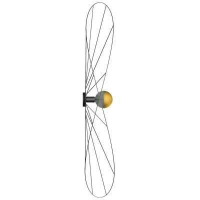 Asymmetric wall lamp wall lamp ESKOLA K hat diameter 140cm THORO