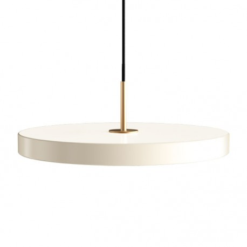 Lampa Asteria pearl white UMAGE z panelem LED (VITA Copenhagen) - perłowa biel