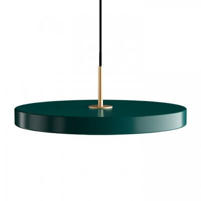Lampa Asteria forest green z panelem LED UMAGE (VITA Copenhagen) - ciemna zieleń