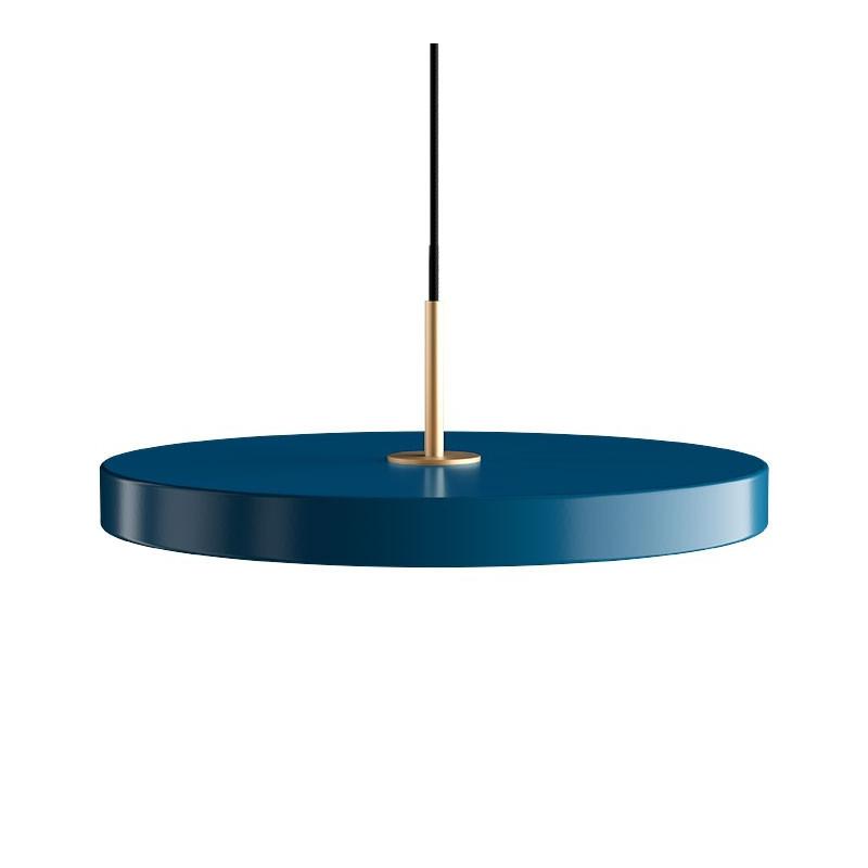 Lampa Asteria petrol blue z panelem LED UMAGE (VITA Copenhagen)