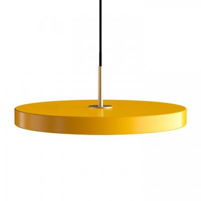 Lampa Asteria saffon yellow z panelem LED UMAGE (VITA Copenhagen) - bordowy