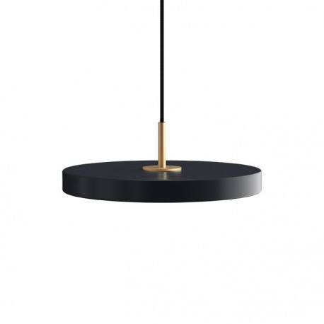 Asteria Mini anthracite gray lamp with LED panel UMAGE - grey
