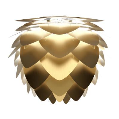 Abażur Aluvia medium brushed brass UMAGE szczotkowany mosiądz