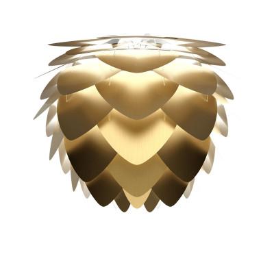 Lampshade Aluvia medium brushed brass UMAGE brushed brass