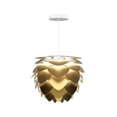 Ceiling pendant lamp Aluvia mini brushed brass UMAGE