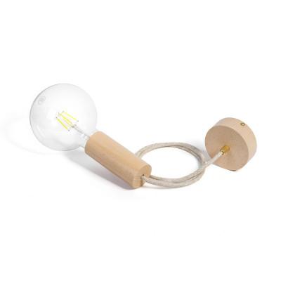 Loft Eco Line B pendant lamp with brass lock KOLOROWE KABLE