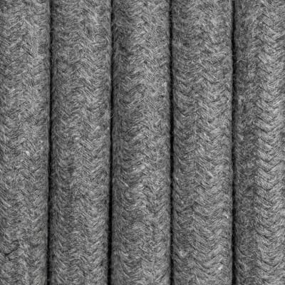 Kabel w oplocie szarym bawełnianym trzyżyłowy 3x2,5mm2 Kolorowe Kable