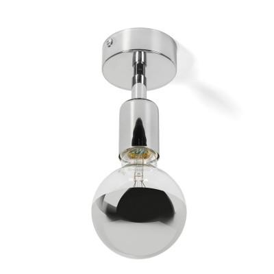 Lampa ścienna z możliwością montażu na suficie Loft Elite Line Silver kinkiet KOLOROWE KABLE