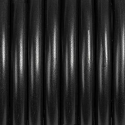 Przewód dwużyłowy 2x0.75 w czarnym kolorze bez oplotu okrągły H03VV-F Kolorowe Kable