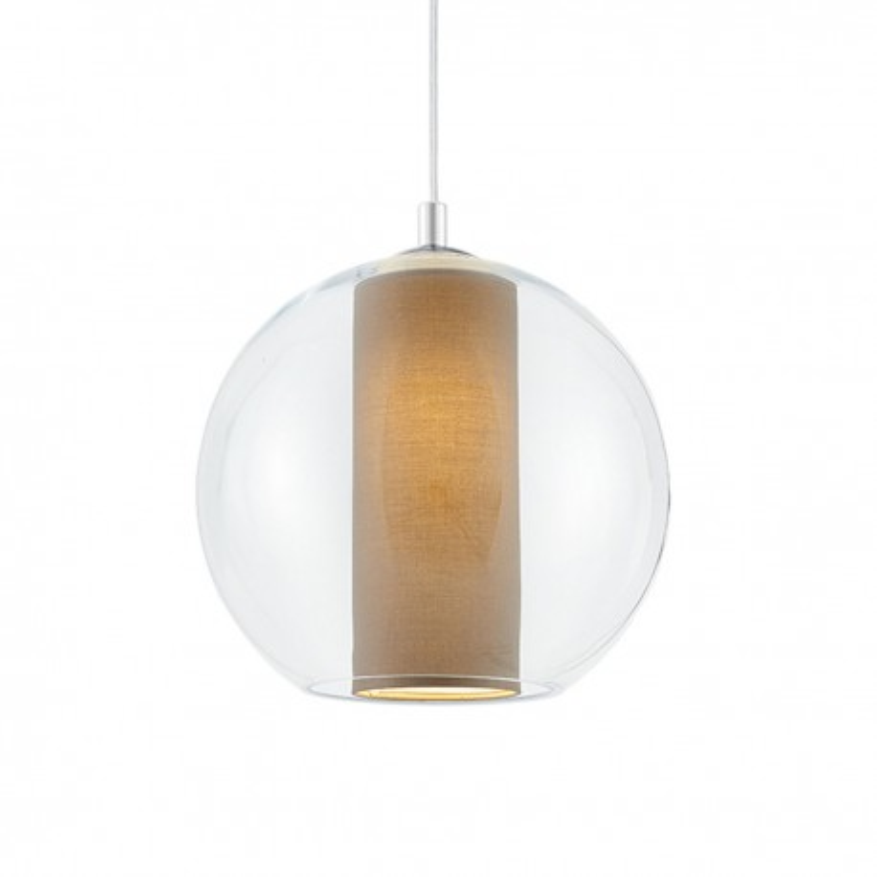 Merida L Pendant Lamp (beige lampshade)