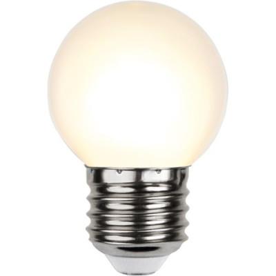 Plastikowa żarówka do girland LED kulka 45mm 1W ciepła biała Star Trading