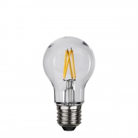 PC COVER FILAMENT plastic LED bulb A55 2.4W 2700K IP44 Star Trading
