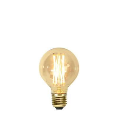 VINTAGE GOLD bursztynowa żarówka LED ściemnialna G80 3,7W 1800K Star Trading