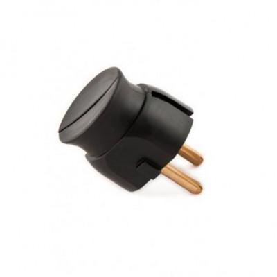 Plastic plug black