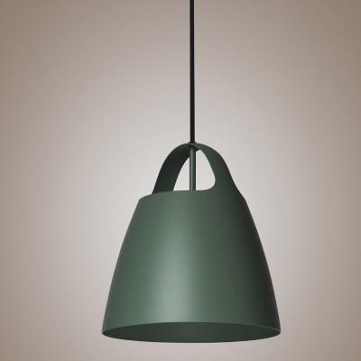 Zielona lampa wisząca BELCANTO  28cm LOFTLIGHT