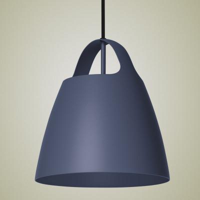 Niebieska lampa wisząca BELCANTO  35cm LOFTLIGHT