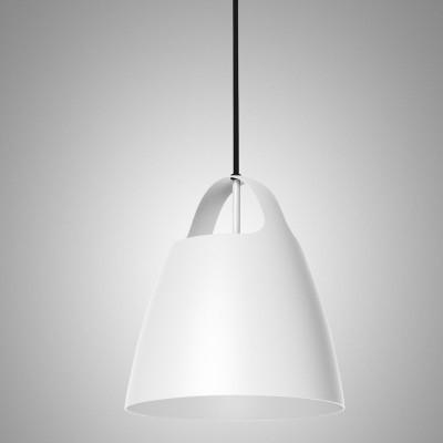 Biała lampa wisząca BELCANTO  28cm LOFTLIGHT
