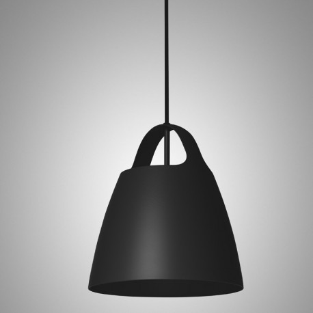 Jet Black BELCANTO hanging lamp 28cm LOFTLIGHT