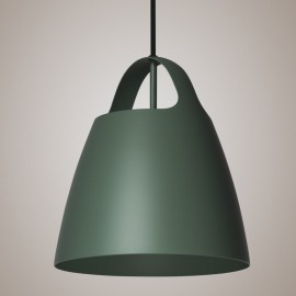 Hedge Green BELCANTO hanging lamp 28cm LOFTLIGHT