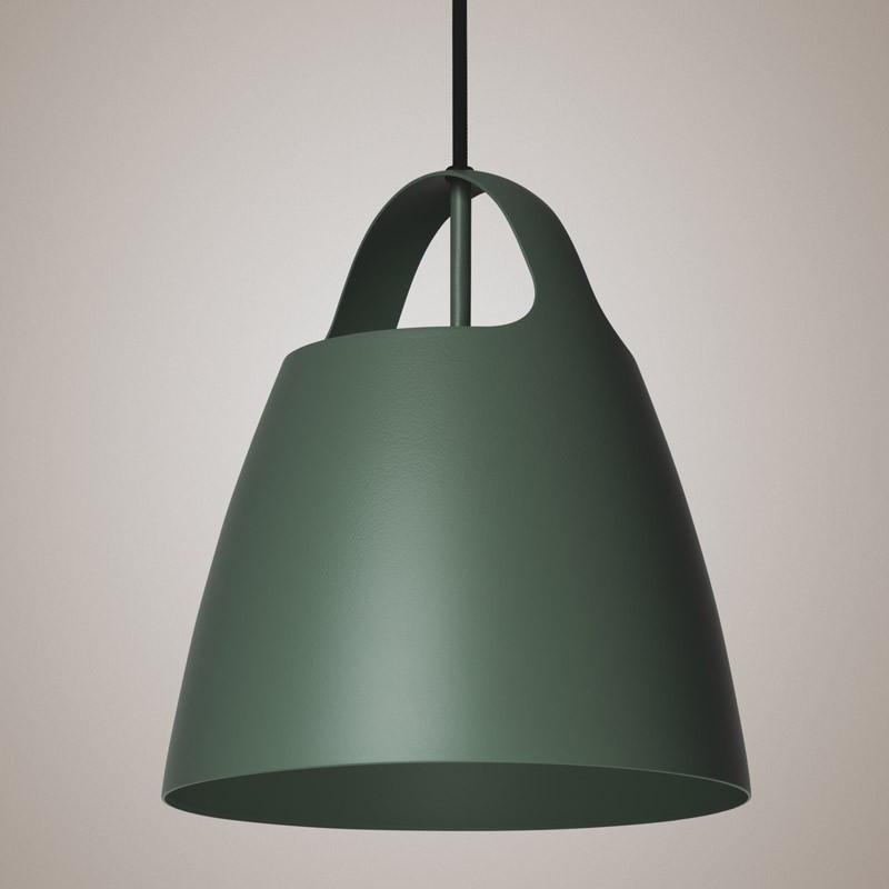 Hedge Green BELCANTO hanging lamp 28cm LOFTLIGHT