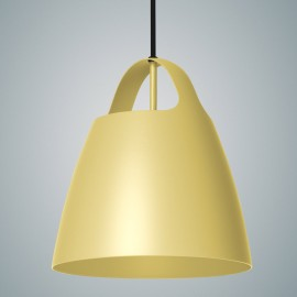 Dusky Citron BELCANTO hanging lamp 28cm LOFTLIGHT