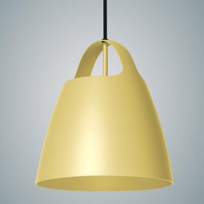 Żółta lampa wisząca BELCANTO  28cm LOFTLIGHT